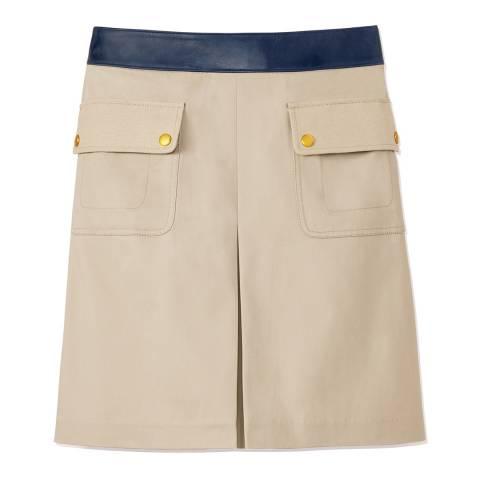 Tory Burch Beige Joss Skirt
