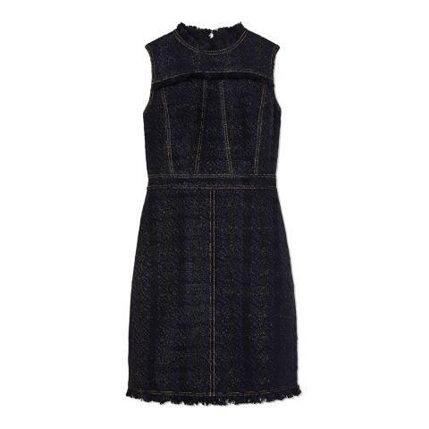 Tory Burch Midnight Aria Tweed Dress