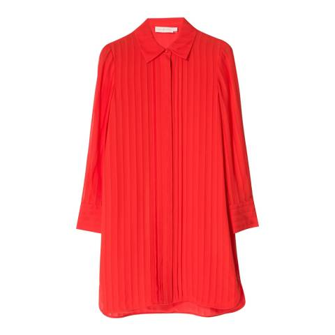 Tory Burch Red Avery Dress