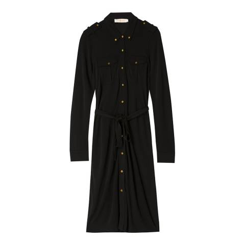 Tory Burch Black Edie Shirt Dress