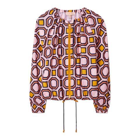 Tory Burch Pink/Multi Digby Jacket