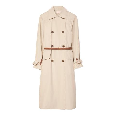 Tory Burch Beige Marielle Trench Coat