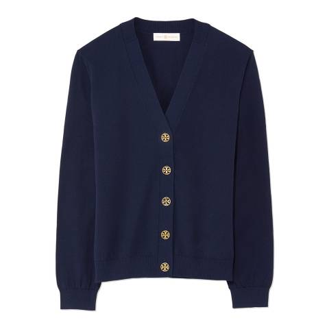 Tory Burch Navy Margeaux Cardigan