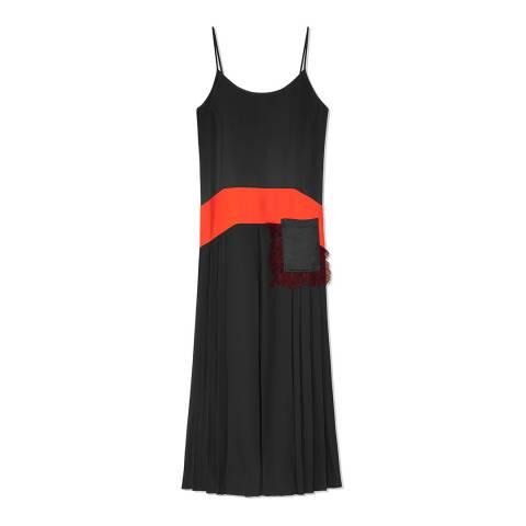 Tory Burch Black Veronica Slip Dress
