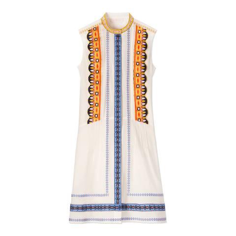 Tory Burch Ivory Adriana Dress