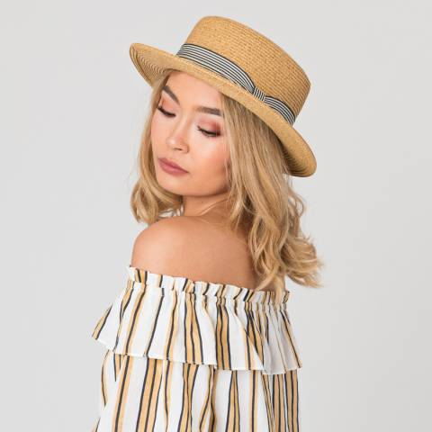 Pia Rossini Natural Casey Hat