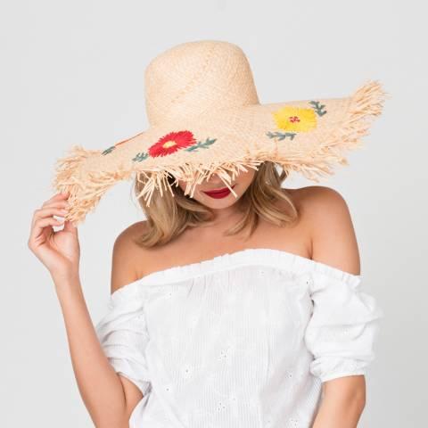 Pia Rossini Natural Raeni Hat