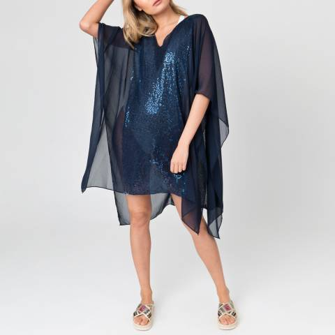 Pia Rossini Navy Julz Cover Up