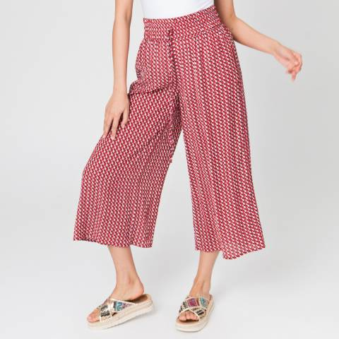 Pia Rossini Red Goya Culottes