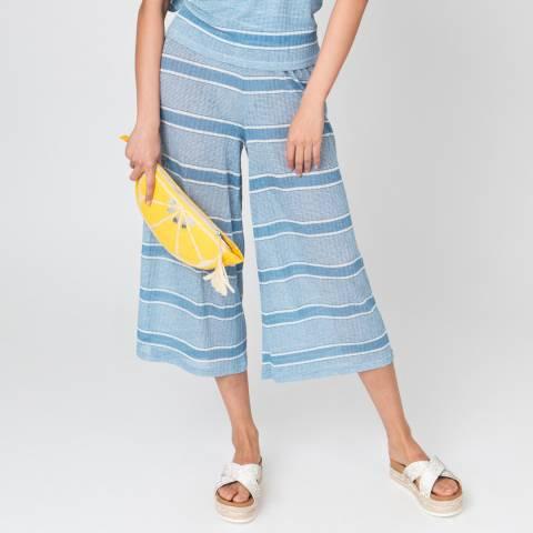 Pia Rossini Blue/White Bondi Culottes