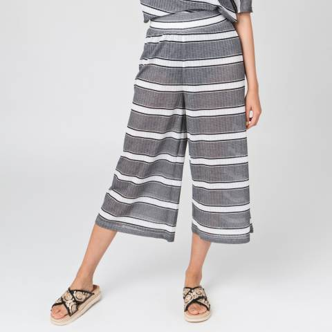Pia Rossini Black/White Bondi Culottes
