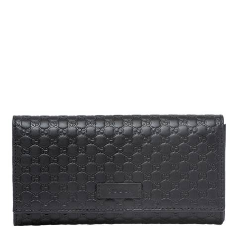 Gucci Women's Black Guccisima Wallet