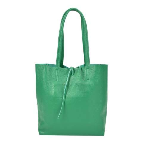 Sofia Cardoni Green Leather Shoulder Bag