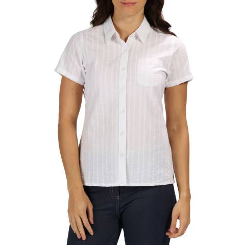 Regatta White Jerbra III Shirt