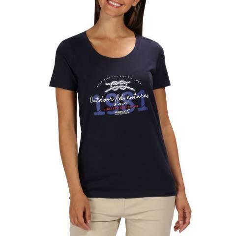 Regatta Navy Filandra III T-Shirt