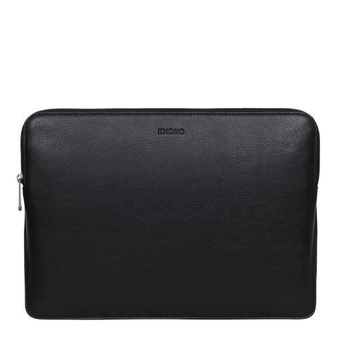 Knomo Black Barbican Laptop Sleeve 12 Inch