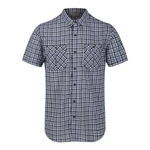 Regatta Navy Ramone Short Sleeve Shirt