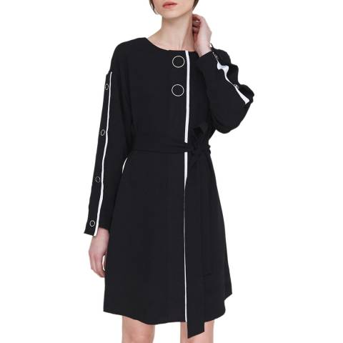 Outline Black Brompton Dress