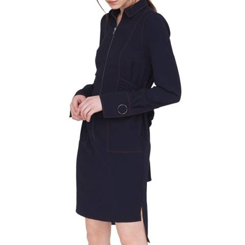 Outline Navy Stockley Dress