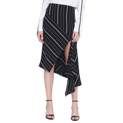 Outline Black/White Leighton Skirt