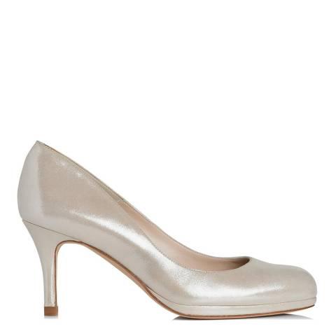 L K Bennett Soft Gold Sybila Heeled Shoe