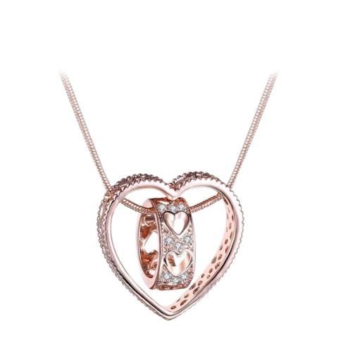 SWAROVSKI Heart Necklace with Swarovski Crystals