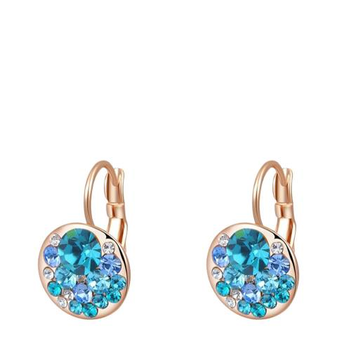SWAROVSKI Sapphire Clip Earrings with Swarovski Crystals