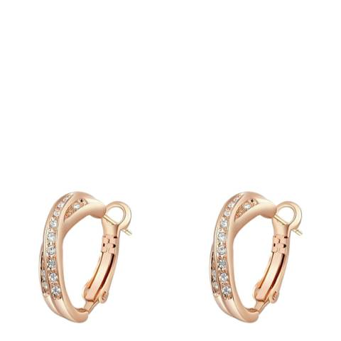 SWAROVSKI Hoop Earrings with Swarovski Crystals