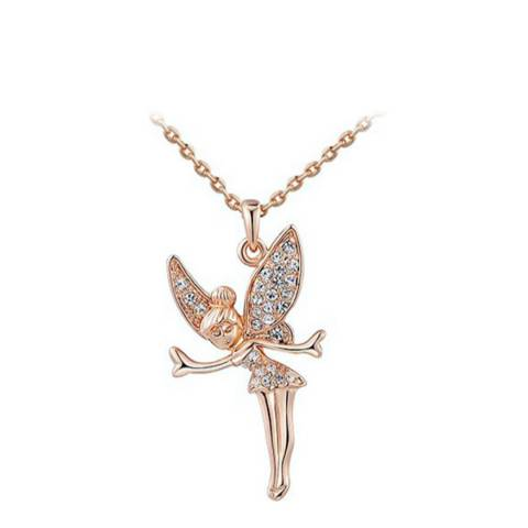 SWAROVSKI Angel Wings Necklace with Swarovski Crystals