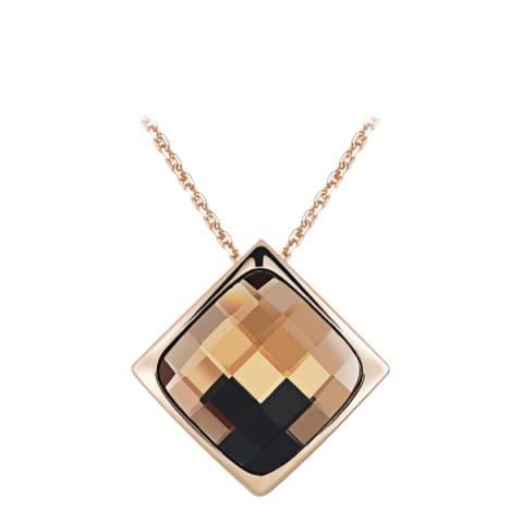 SWAROVSKI Citrine Necklace with Swarovski Crystals