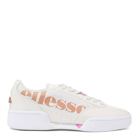 Ellesse Off White Metallic Piacentino Trainer