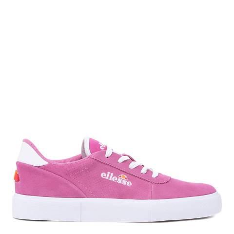 Ellesse Super Pink Alto Zag Suede Trainer