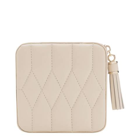 WOLF Ivory Caroline Zip Travel Case