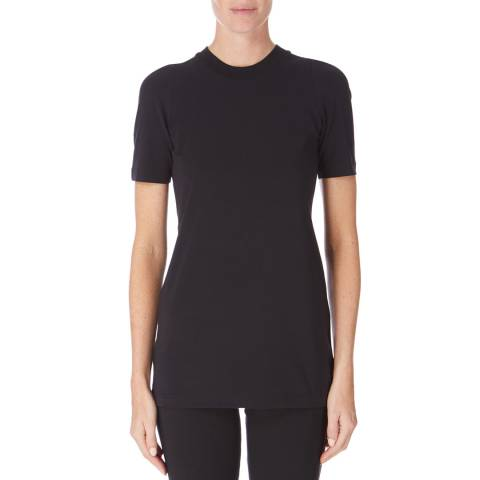 adidas Y-3 Black Short Sleeve Street Tee