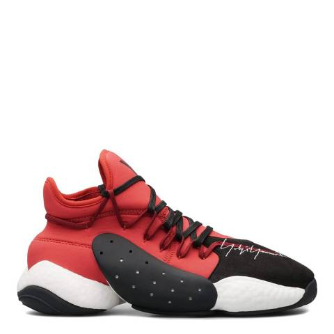 adidas Y-3 Red & Black Y-3 BYW Bball Sneaker