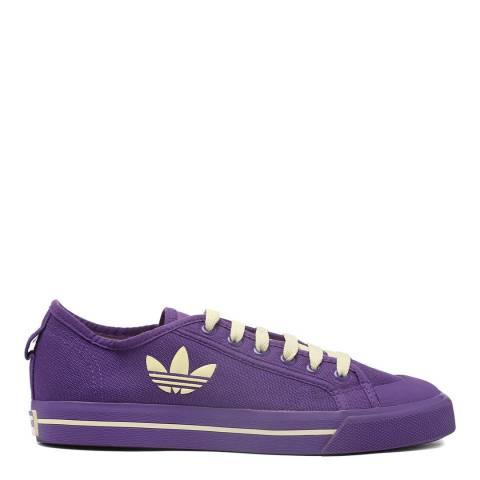 Adidas By Raf Simons Purple Missun Raf Simons Lateral Logo Sneaker