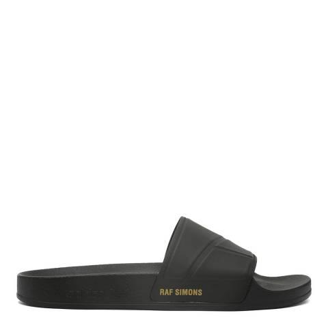 Adidas By Raf Simons Black Raf Simons Bunny Adilette Slide Sandal