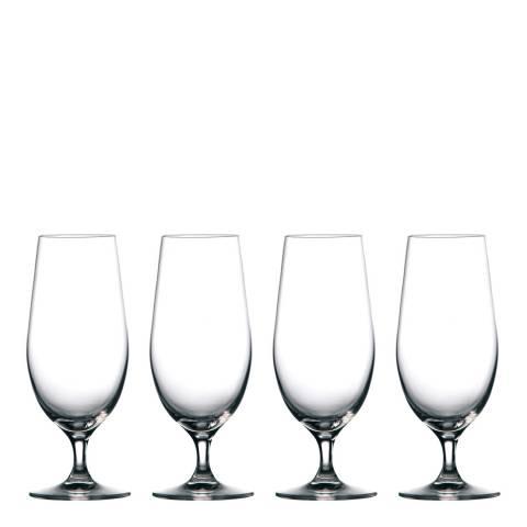 Waterford Set of 4 Moments Pilsner Beer Glasses