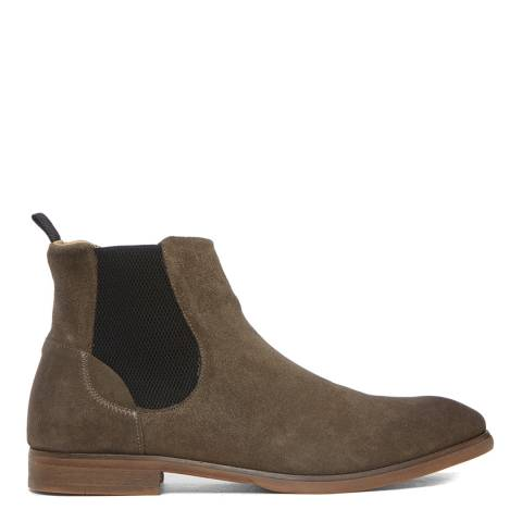 Hudson London Stone Suede Watchley Chelsea Boots