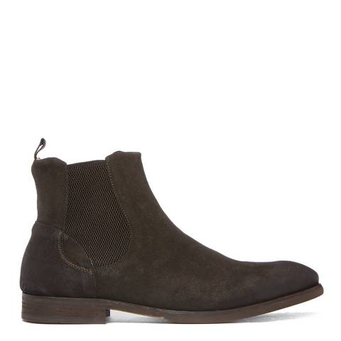 Hudson London Brown Suede Watchley Chelsea Boots