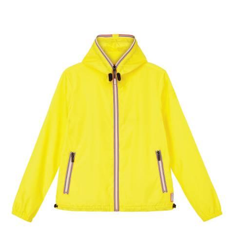 Hunter Yellow Lightweight Shell Jacket