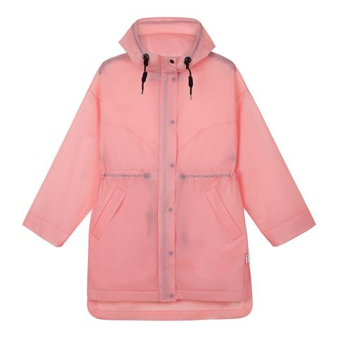 Hunter Candy Floss Oversized Vinyl Raincoat