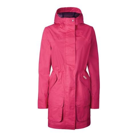 Hunter Bright Pink Cotton Hunting Coat
