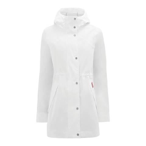 Hunter White Original Waterproof Cotton Smock