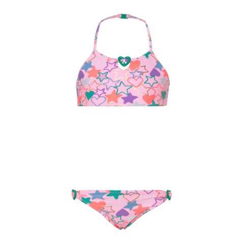 Sunuva Girls Pink Love Heart Bikini
