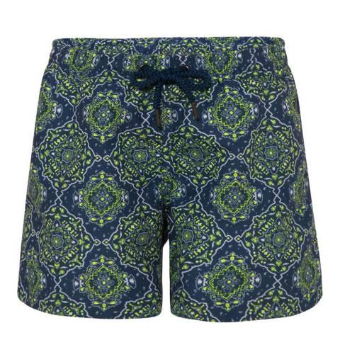 Sunuva Boys Navy Bandanna Swim Shorts