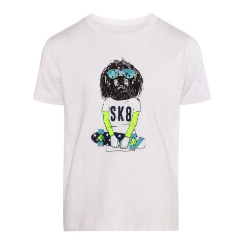 Sunuva Boys White Skateboard T-Shirt