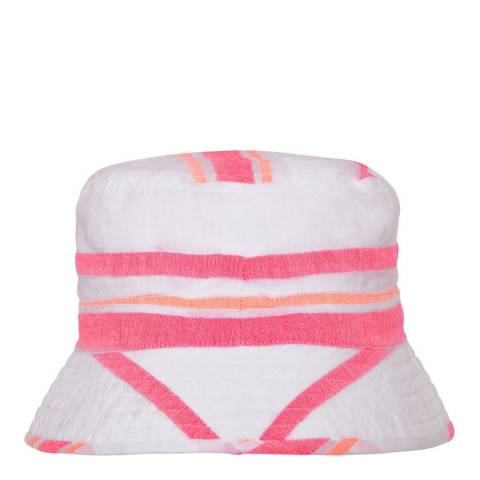 Sunuva Girls Pink Multistripe Canvas Hat