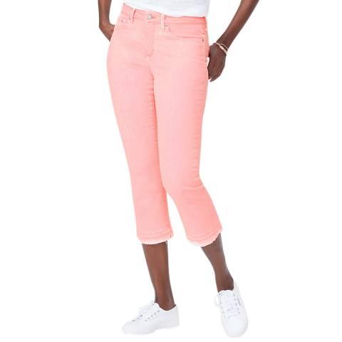 NYDJ Pink Cropped Capri Jeans