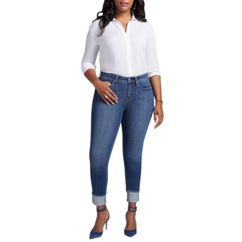 NYDJ Blue Boost Skinny Curve Jeans